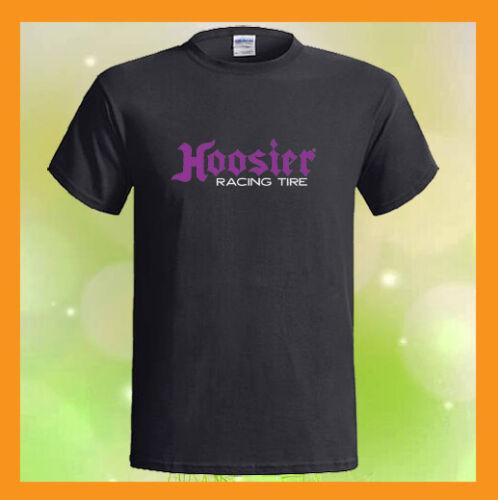 Hoosier Racing Tire Logo Drag Race Car NEW Men/'s Black T-Shirt S M L XL 2XL