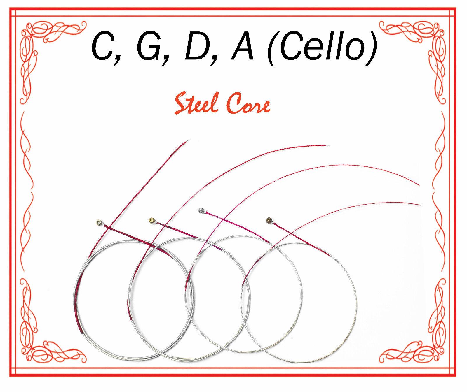 Paititi String Steel Core Beginner Level String Set 1/4 Größe Cello High Quality
