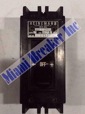 Heinemann 2263S Circuit Breaker 2P 20A 250V