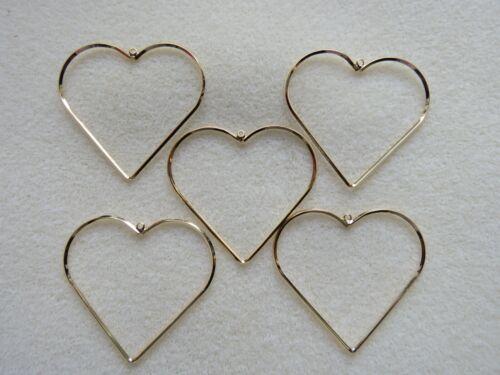 50mm joyas o Craft haciendo vendedor del Reino Unido 5-20 grandes GP Amor Corazón Colgantes