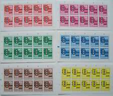 Stadspost Amsterdam 1983 - 6 Vel is 10 series Gemeentewapen ongetand