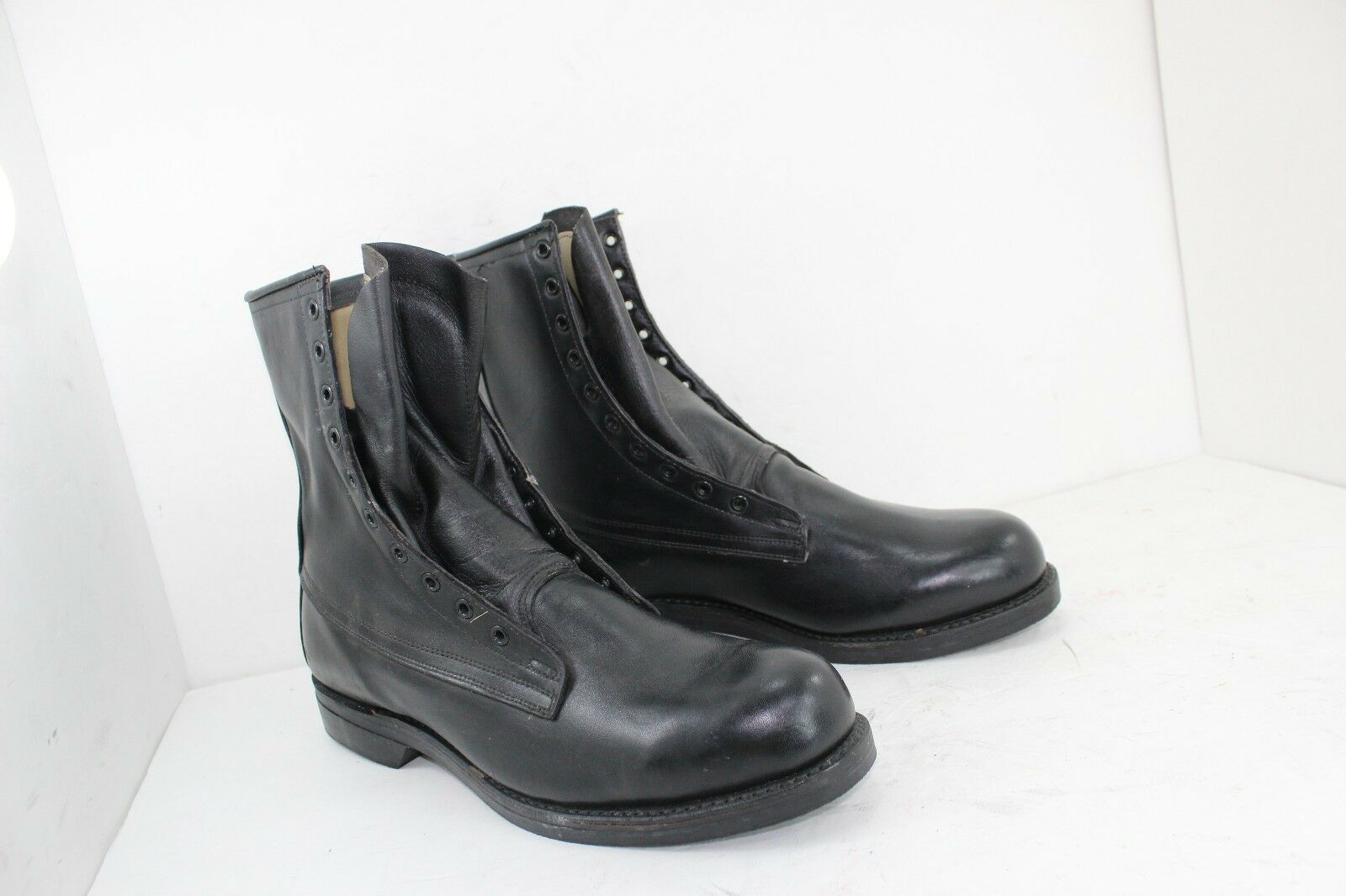 COVE schuhe COMPANY SZ 13 D MADE IN USA MILITARY Stiefel schwarz NEW