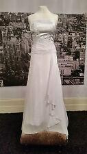 CURRENTLace geschnürt Kleid mit Fabulous Schleppe, Hochzeit, Strandhochzeit, at