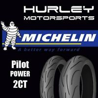 Michelin Pilot Power 2ct Motorcycle Tire Set - 120/60zr-17 - 160/60zr-17