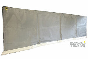 Image Is Loading CARAVAN AWNING SKIRT WHEEL ARCH DRAUGHT COVER TWIN