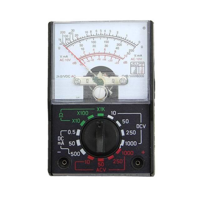 Hot MINI Electric AC/DC OHM Voltmeter Ammeter Multimeter Multi Tester MF-110A