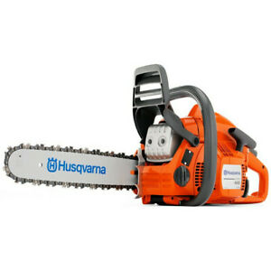 Husqvarna 41cc 2.4 HP Gas 18 in. Rear Handle Chain Saw 967166003 Recon