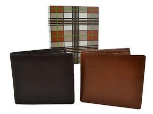 Para-hombres-Cuero-De-Calidad-Bi-Fold-Wallet-Por-Mala-en-Caja-de-Regalo-Elegante