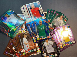 2018-Panini-Adrenalyn-XL-World-Cup-Russia-Card-Lot-50-Cards-Lots-Of-Inserts