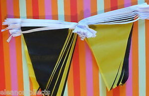 20m-Black-and-Yellow-Triangle-Bunting-Rugby-Football-Sports-School-Business-bnip