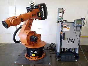 Details about Kuka KR150 Robot w/ KRC2 Controller - Complete Robotic  System! ABB Fanuc Motoman
