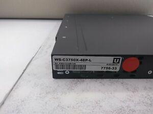 Cisco-Catalyst-WS-C3750X-48P-L-48-ports-Gigabit-Switch-775633