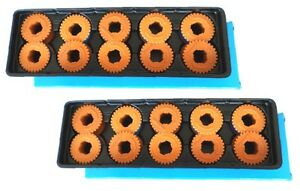 10 X Correction Tape Size 302 lift-off sharp pa3000 pa3100 pa3130 pa4000 pa4300 zx3