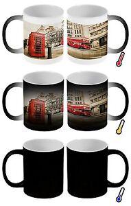 Zauber Magig Tasse Fernweh Stadt London roter Bus Telefonzelle