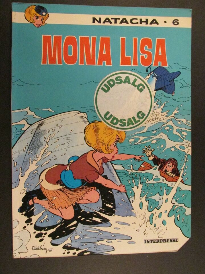 Tegneserier, Natacha. Album nr. 6 : Mona Lisa.