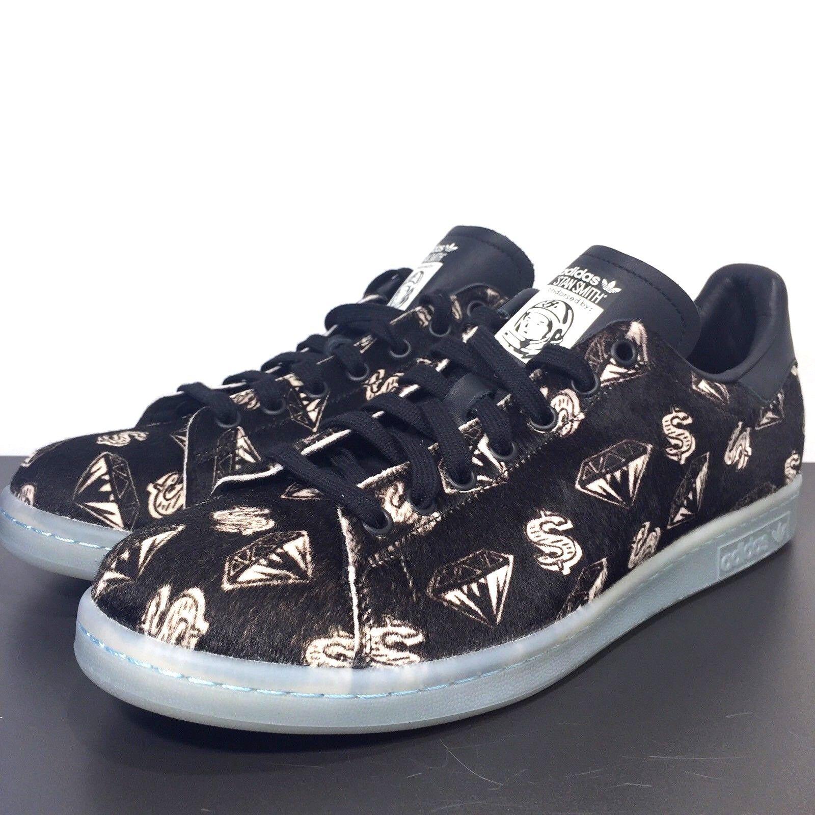 ADIDAS Stan Smith x Billionaire Pony Boys Club Pharrell Williams Pony Billionaire Hair Sneakers bb2a81