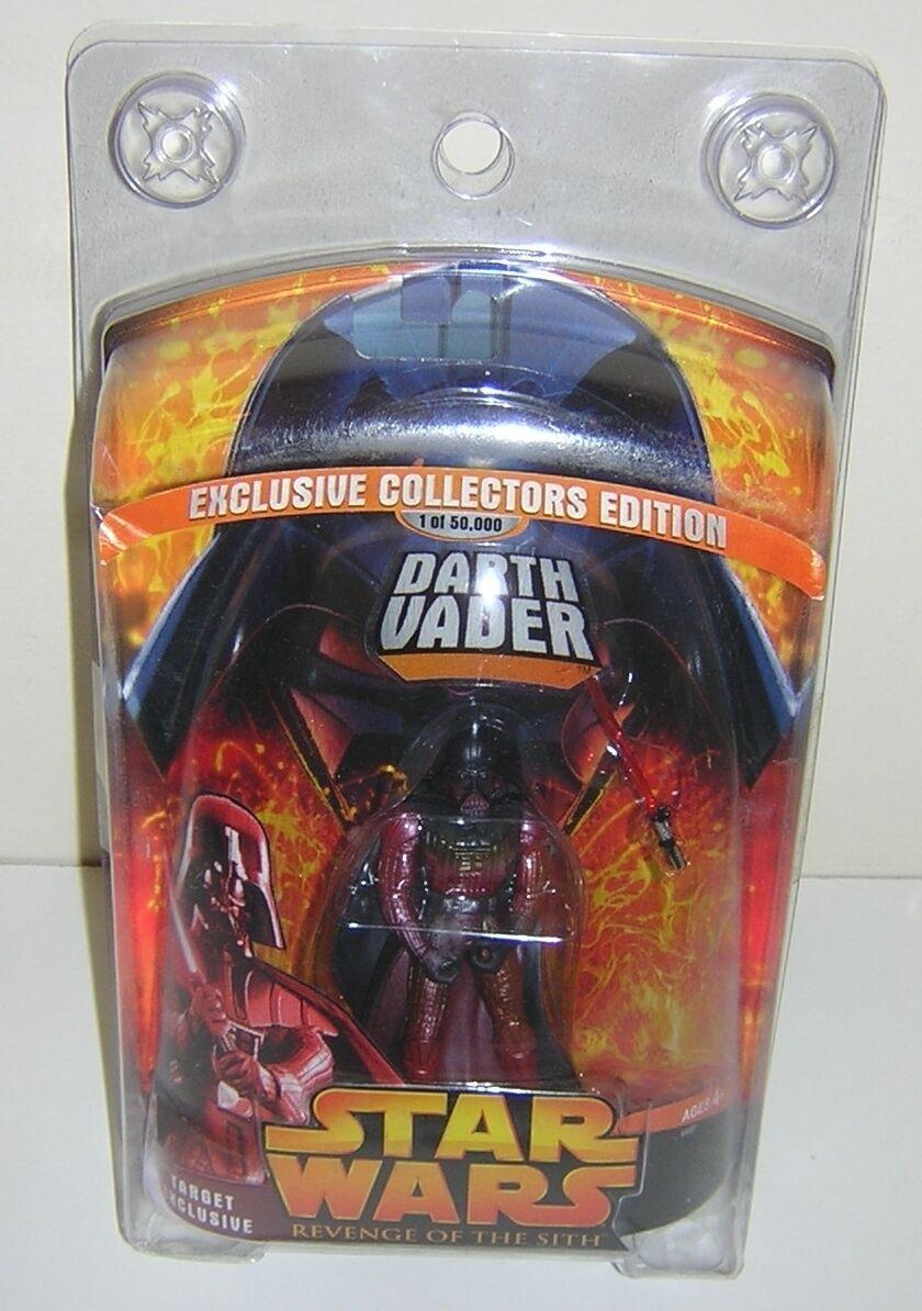Star Wars Revenge of Sith redS Darth Vader Lava Reflection Exclusive SUPER RARE