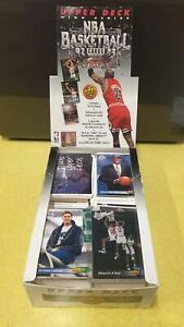 Set-of-1992-93-upper-deck-basketball-cards