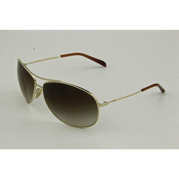 ba0dfc1111 Ray-Ban Rb3454l 001 13 Pilot Sunglasses Gold Arista Brown Gradient Lens  65mm for sale online