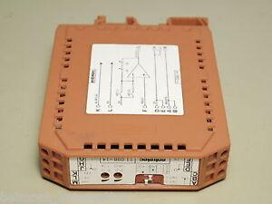 Entrelec-11-098-14-Terminal-Block-Amplifier-Module-DIN-Rail-Mount