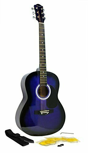 Martin Smith W-100-BL-PK  Acoustic Guitar Kit with Guitar Strings Guitar