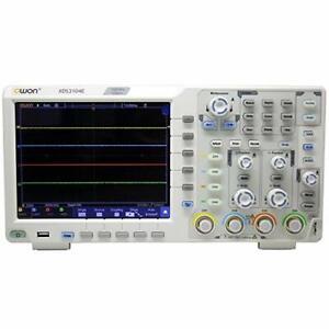 Owon-XDS3104E-100MHz-4chs-Pantalla-Tactil-2C-SPI-RS232-40Mc-puede-decodificar-Osciloscopio