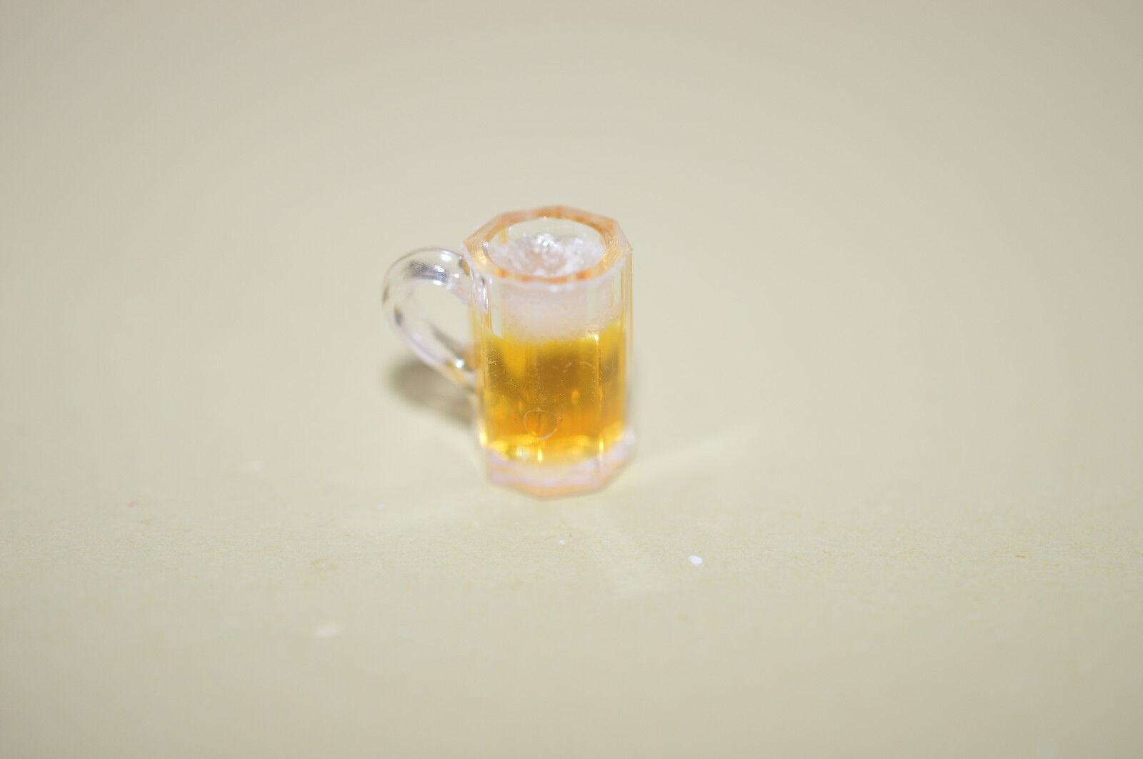 FA11019 Dollhouse Miniature Beer Mug with Foam