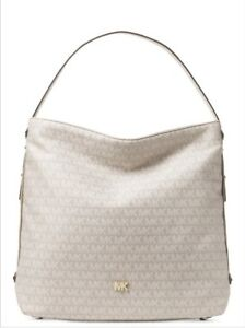 4542b7a95991 Image is loading MICHAEL-Michael-Kors-Signature-Large-Griffin-Hobo-Shoulder-