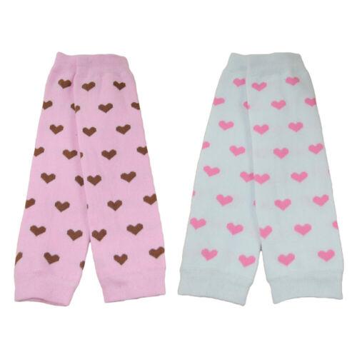 Baby Toddler Girl Kid Heart Polka Dots Arm Leg Warmers Cotton Warm Socks Tights