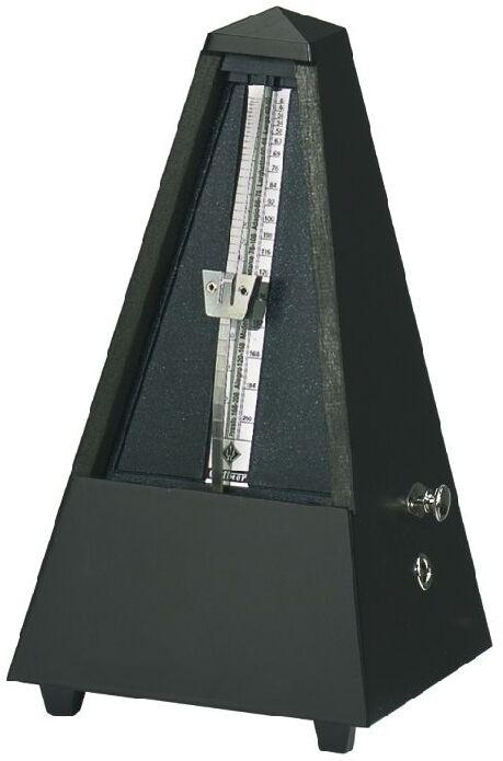Miglior prezzo METRONOMO METRONOMO METRONOMO Wittner 816M NERO OPACO SISTEMA Maelzel a piramide legno con suoneria  prezzo più economico