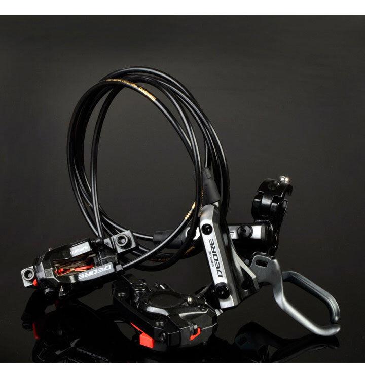 New SHIMANO Deore M596 MTB Hydraulic Disc Brake Set Front&Rear W redor-Resin Pad