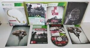 THE EVIL WITHIN Limited Edition - Jeu XBOX 360 PAL Complet Très bon état