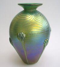 Edelste Kristall Glasvase ala Jugendstil/tArt Nouveau Unikat Feinste Handarbei
