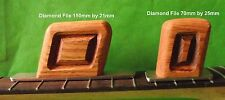 Two Fret Levelling Tools with Fine Grit Diamond Files:150 & 70mm  TF022