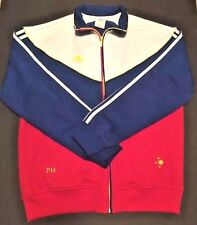 Adidas Philippines Range Collection mens Track Jacket Coat Red Blue Yellow XL