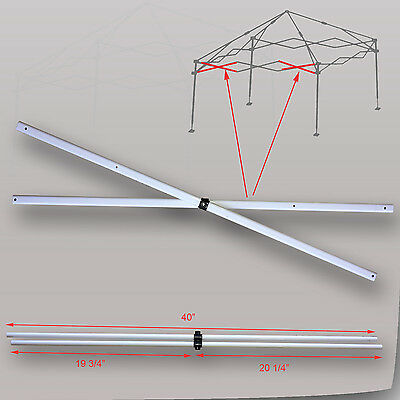 Quik Shade Commercial 10 X 10 Canopy Side Truss Bar 40