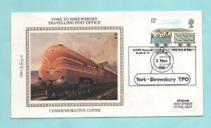 Benham Petit Chemin De Fer -1981 (b) York à Shrewsbury Voyage Bureau De Poste à Tout Prix