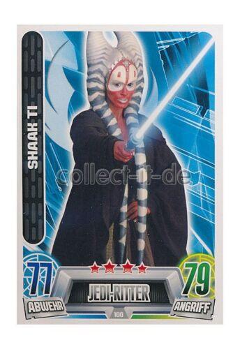 Force Attax Movie Cards 2 100-Shaak Ti-Chevalier Jedi-République
