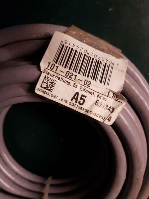 FABER PVC-Steuerleitung YSLY-JZ 3X1,5 grau 100m Ring