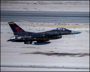 USAF-F-16-Fighting-Falcon-64th-AGRS-034-Wraith-034-Nellis-AFB-2019-8x10-Photos