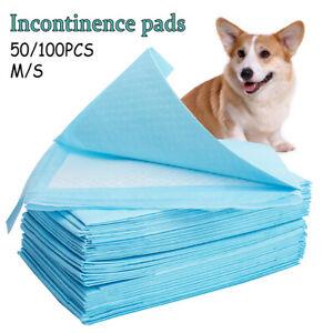 50-100-Pcs-Chiot-Pet-Chien-Chat-Formation-Couche-Toilette-Interieur-Pads-ME