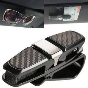 Glasses-Holder-Car-Sunglasses-Sun-Visor-Eyeglasses-Clip-Hanger-Card-Ticket-Mount
