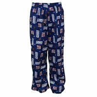 Gerber Nfl York Giants Youth Kids Blue Pajama Lounge Pants Bottoms