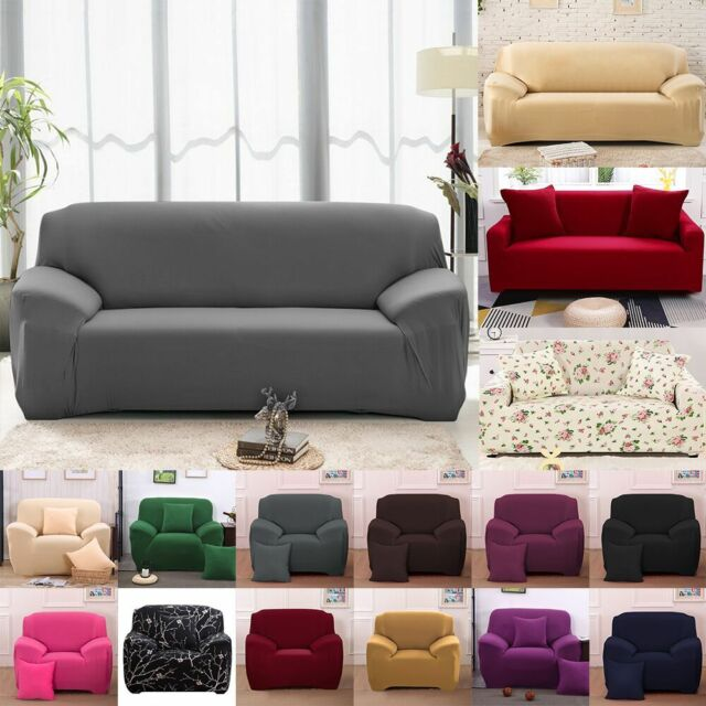 Prime 1 4 Seats Slipcover Sofa Cover Living Room Spandex Stretch Couch Cover Protector Short Links Chair Design For Home Short Linksinfo