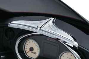 Image Is Loading KURYAKYN CHROME TOP DASH ACCENT FOR 2014 2017
