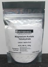 Magnesium Acetate Tetrahydrate Acs 98 100g