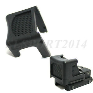 Anti-Reflection-Alu-Kill-flash-Protective-Cover-For-RMR-Red-Dot-Sight-Black