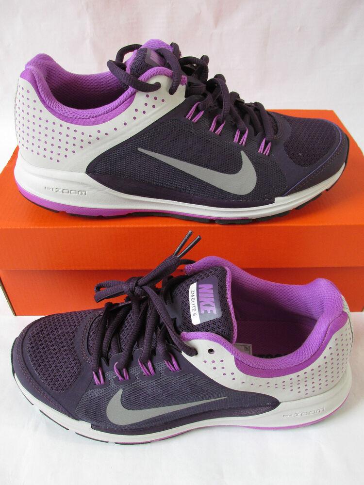 Confiant Nike Femme Zoom Elite + 6 Running Baskets Sneakers Chaussures 554728 005