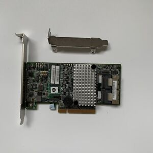 LSI 9267-8i 6Gb/s PCIE 2.0 512MB 8Port Internal SATA/SAS Controller Card=9265-8I
