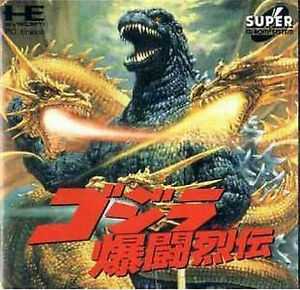 Details about GODZILLA NEC PC Engine super CD ROM SCD Turbografx 16 Japan